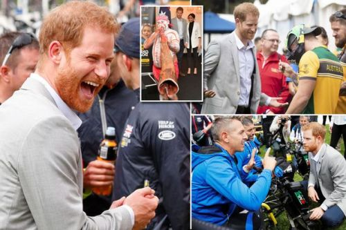 Prince Harry flies solo after encouraging pregnant Meghan Markle to rest up following busy start to royal tour