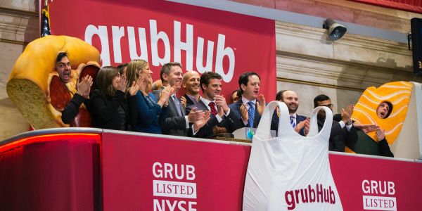 Grubhub rockets 11% on reports of takeover interest from 2 European peers