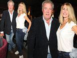Jeremy Clarkson, 59, shows off two stone weight loss as he cosies up to girlfriend Lisa Hogan, 46