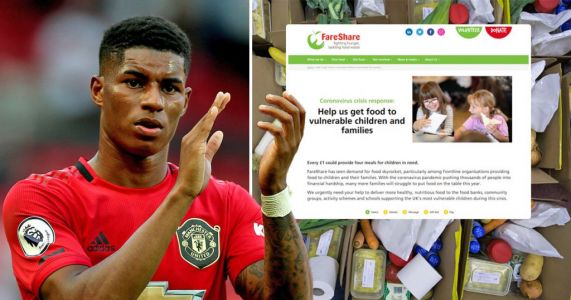 How to donate to Marcus Rashford's charity to feed UK's poorest children