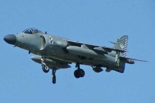 Three iconic Harrier jump jets for private sale with plenty of miles on clock