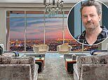 Matthew Perry slashes the price of his Batman-inspired 'Mansion in the Sky' LA penthouse apartment