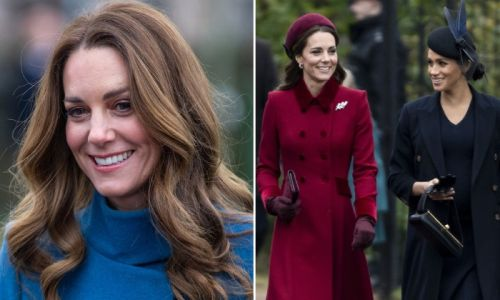 Kate Middleton channelled Meghan Markle's style with sweet nod