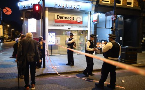 Fatal stabbing in broad daylight on busy shopping street in Islington, north London