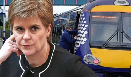 Sturgeon left red faced as Scottish rail ranks bottom in UK - operator paid 65,000 claims