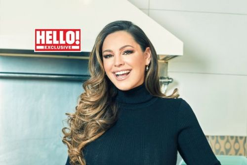 Kelly Brook says she was 'terrified' of Paul Hollywood on Celebrity Bake Off