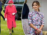 The Queen makes an appearance at the Cartier Polo Cup final in Windsor