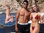 Perrie Edwards shares sizzling bikini snaps with beau Alex Oxlade-Chamberlain