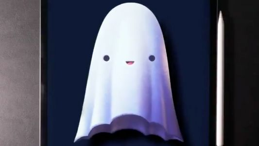 This adorable ghost illustration is breaking Twitter