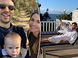 Former Bachelor Matty 'J' Johnson enjoys a family holiday to celebrate his 33rd birthday