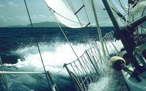 Learning the ropes: An extract from Shakedown Cruise by Nigel Calder
