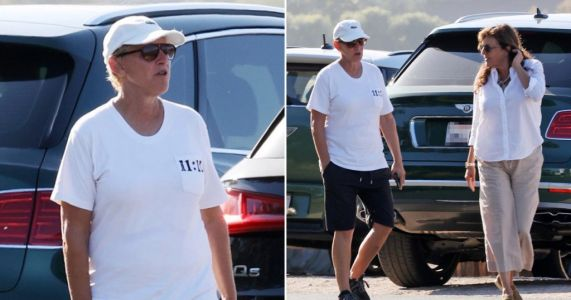 Ellen DeGeneres keeps a low profile on stroll with friend after apologising for 'toxic work environment'
