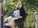 Kate Garraway cuts a solemn figure after revealing husband Derek Draper could be comatose 'forever'
