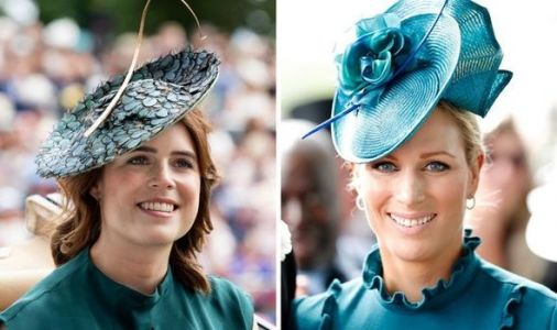 Princess Eugenie and Zara Tindall react to their grandmother the Queen's address to nation