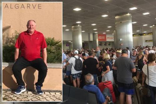 Brits stranded by Tenerife sandstorm catch Jet2 plane home - but land in Portugal