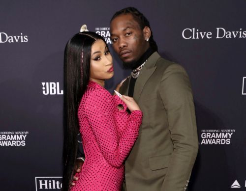 Offset thanks fans for support and urges them to vote after incident with police officers at Trump rally