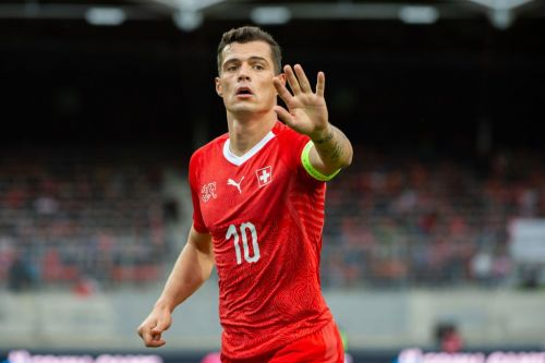 Arsenal star Granit Xhaka reveals he's been suffering with injury after Switzerland clash