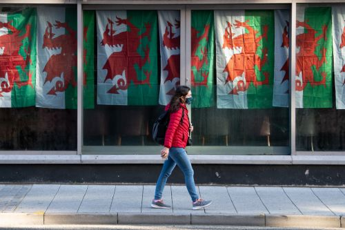 Which areas in Wales are in lockdown?