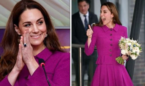 Kate Middleton latest news: The strong royal message Duchess sent in purple outfit