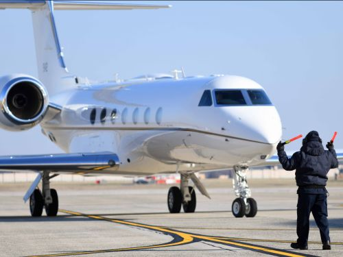 The US Air Force recently acquired a new $64 million Gulfstream private jet for VIP government officials - see inside