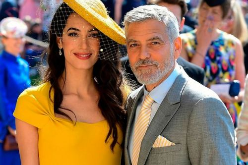 George and Amal Clooney 'didn't know Prince Harry and Meghan' at wedding