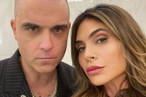 Ayda Field kids are asking awkward questions about Robbie Williams' wild past