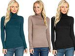 This affordable cosy turtleneck jumper is just £7.99 on Amazon and comes in 24 colours