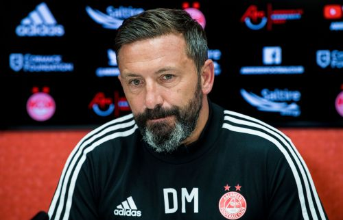 We won't feel weight of expectation in Finland, says Aberdeen manager Derek McInnes