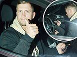 Dan Osborne leaves event to watch wife Jacqueline Jossa on I'm A Celebrity on his phone in his car