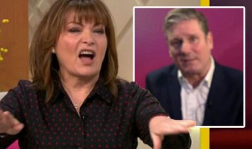 Keir Starmer angers Lorraine fans after interview hit by tech blunder 'Awful quality'