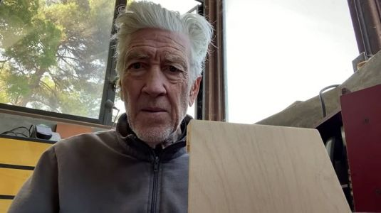 Is David Lynch teasing a new TV series or film project?