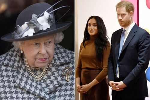 Queen 'bans Meghan Markle and Prince Harry and from using Sussex Royal brand'