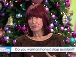 Janet Street-Porter claims she was shamed by London shop assistant while size 12