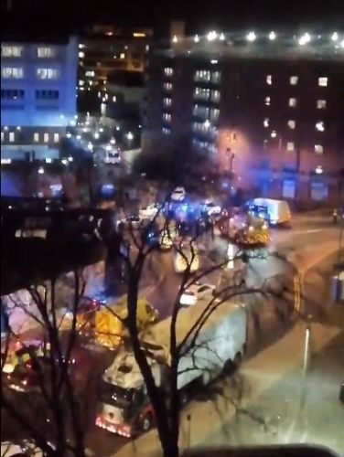 'Fire' breaks out at Leeds General Infirmary as patients and staff evacuated