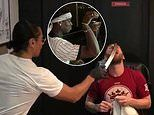 Paul Pogba and Lionel Messi entertained by Salt Bae in Dubai
