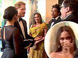 Fans point out Beyonce's reaction to Prince Harry and Meghan Markle asking for voiceover work