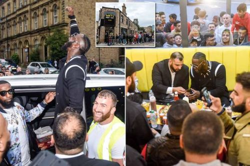 Deontay Wilder mixes up Batley and Manchester in takeaway grand opening blunder