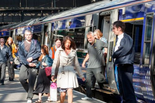 ScotRail ticket checks to resume on Ayrshire train services