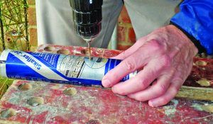 How to get the last of the sealant out of the tube