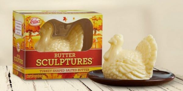 Get this turkey-shaped butter for your Christmas table and use it to avoid awkward family conversations