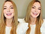 Lindsay Lohan promotes her new single Back To Me as she isolates from home amid Covid-19 pandemic