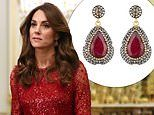 Kate Middleton wore new £140 ruby earrings for African Investment summit