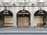 Locked-down London: Exclusive shops and luxury hotels including Claridge's and The Ritz are shut