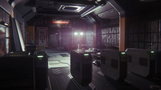 How Alien: Isolation's retro space station was built with fear in mind