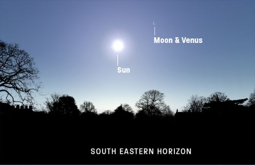 Expert astronomy: watch the Moon occult Venus