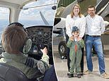Boy, seven, becomes one of the youngest pilots in Britain