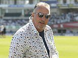 BUMBLE AT THE TEST: Beefy's gone fishing in shirt and shorts and The Cock of Kennington isn't for me