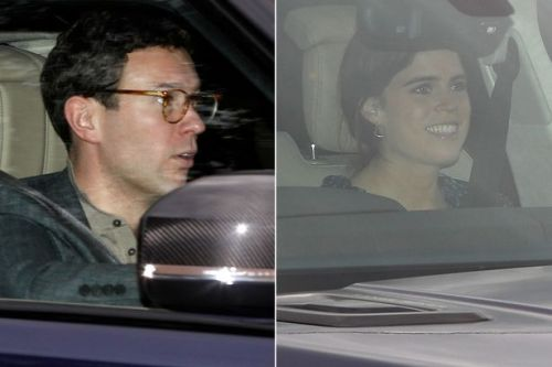 Royal Wedding: Princess Eugenie and Jack Brooksbank arrive at Windsor Castle together night before tying the knot