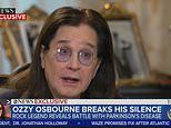 Ozzy Osbourne, 71, reveals he has Parkinson's in emotional interview with wife Sharon