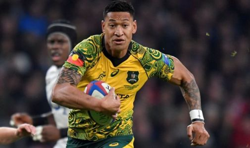 Israel Folau: Sacked Australian rugby star's new fundraiser earning $1,000 a minute